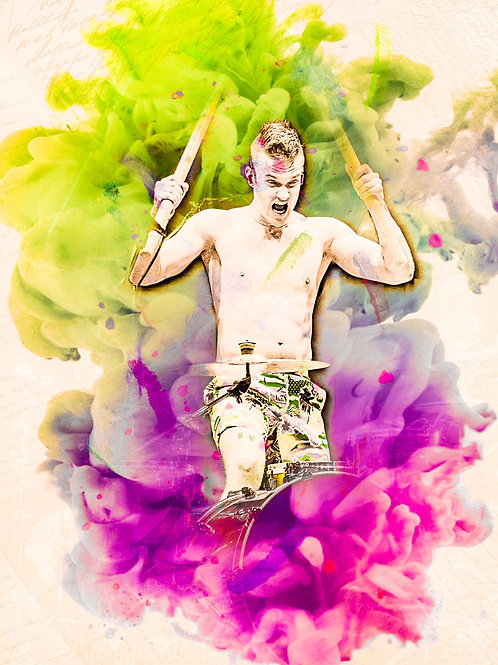 Arejay Hale 8x10 Watercolor Smooth Rag Paper