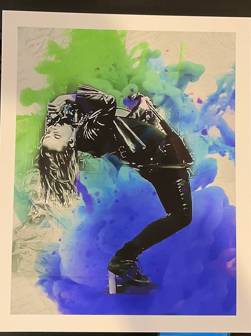 Lzzy Hale Watercolor 8x10 Smooth Rag Paper
