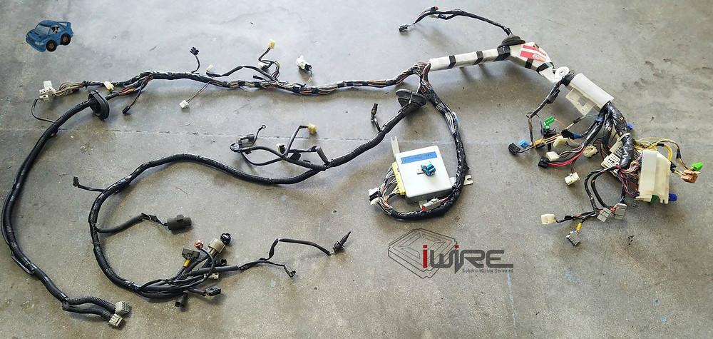 iWire EJ20K Harness Merge