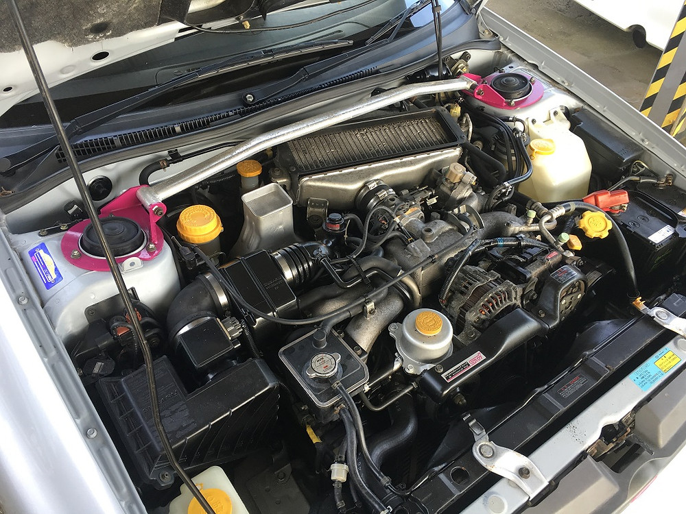 Subaru Impreza WRX STI EJ20G