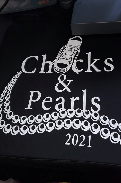 Chucks & Pearls hoodie