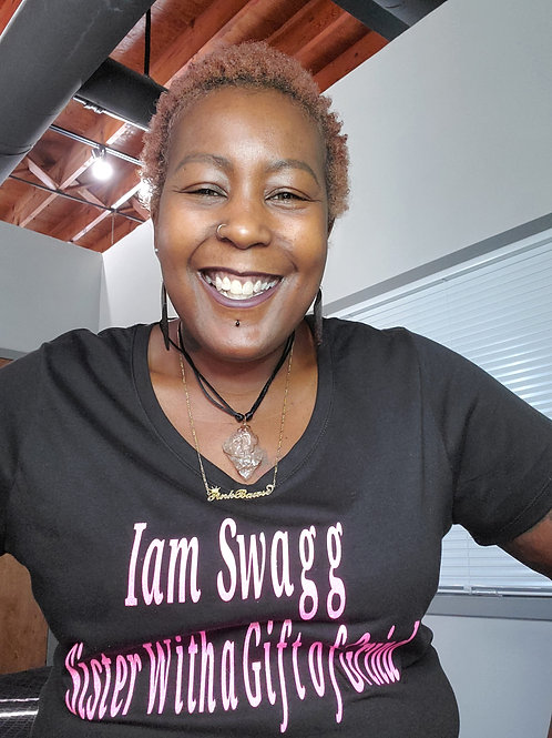 I am Swagg Sister with A Gift of Grind