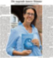 Melanie Belling - Zeitungsartikel - Buchveröffentlichung