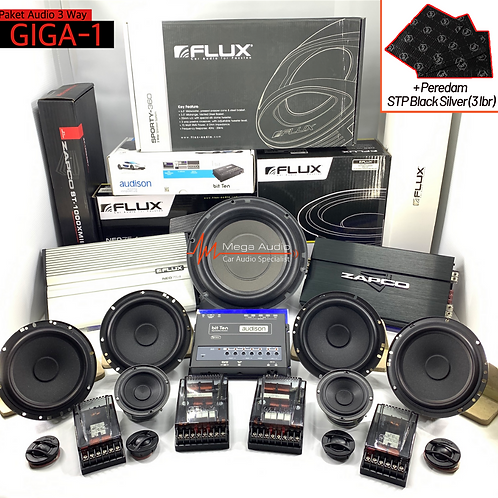 Paket Audio GIGA-1 (3-Way)