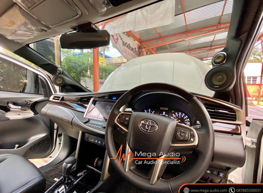 Daily 3WAY Audio Upgrade @ Toyota Innova Venturer