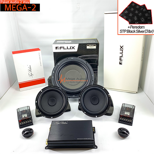 Paket Audio MEGA-2 (2-Way)