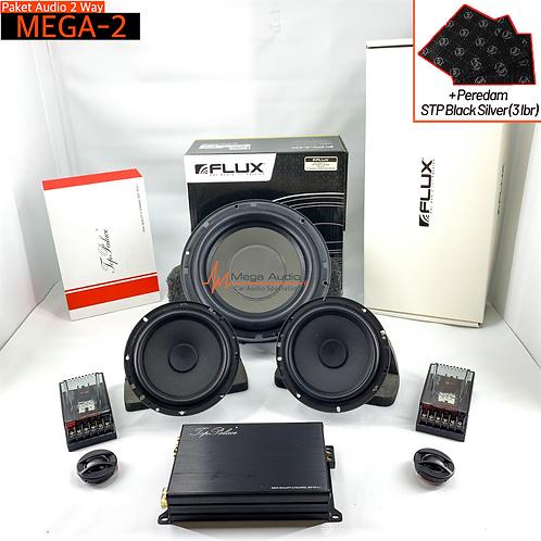 Paket Audio MEGA-2 (2-Way)
