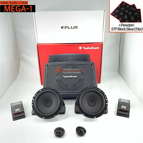Paket Audio MEGA-1 (2-Way)