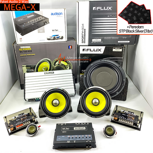 Paket Audio MEGA-X (2-Way)