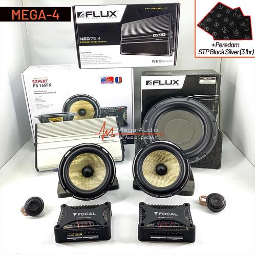 Paket Audio MEGA-4 (2-Way)