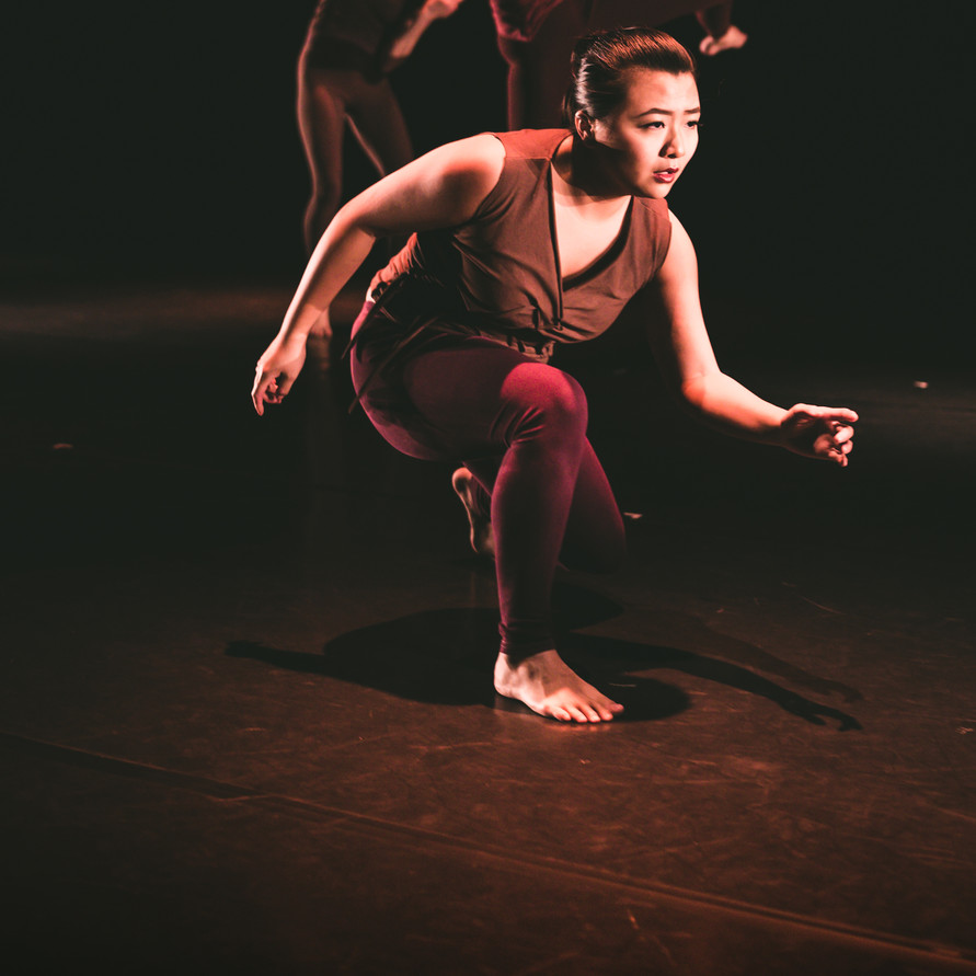 "Converge University Richmond Dance Concert 2018""Alpha"" Choreography by Christian von Howard Costume Design by Johann Stegmeir Lighting Design by Maja E. White Premiere 2018 in ""Converge"" University Dancers 33rd annual concert, University of Richmond"