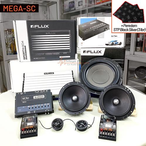 Paket Audio MEGA-SC (2-Way)