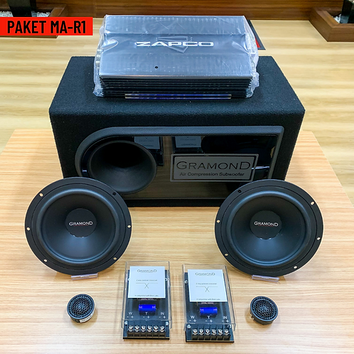 Paket Audio MA-R1 (2Way)
