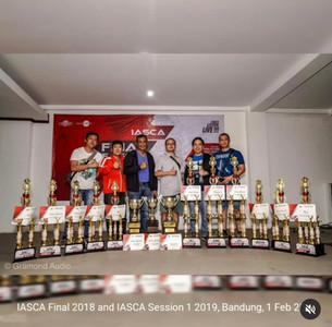 IASCA Grand Final 2018 n Session 1 2019, Bandung Februari 2019