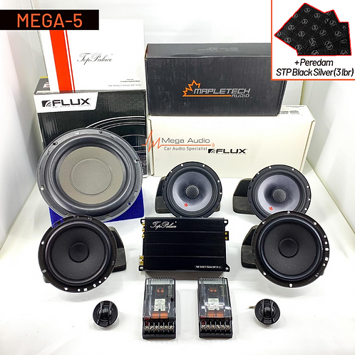 Paket Audio MEGA-5 (2-Way)