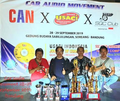 CAN X USACI X SQC Club Bandung, 28-29 Sep 2019