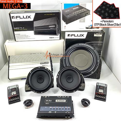 Paket Audio MEGA-3 (2-Way)