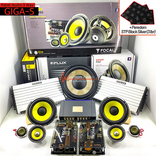 Paket Audio GIGA-S (3-way)