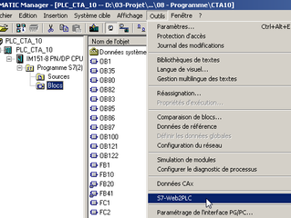 Tutorial : SIMATIC S7 Web Server (2/3)