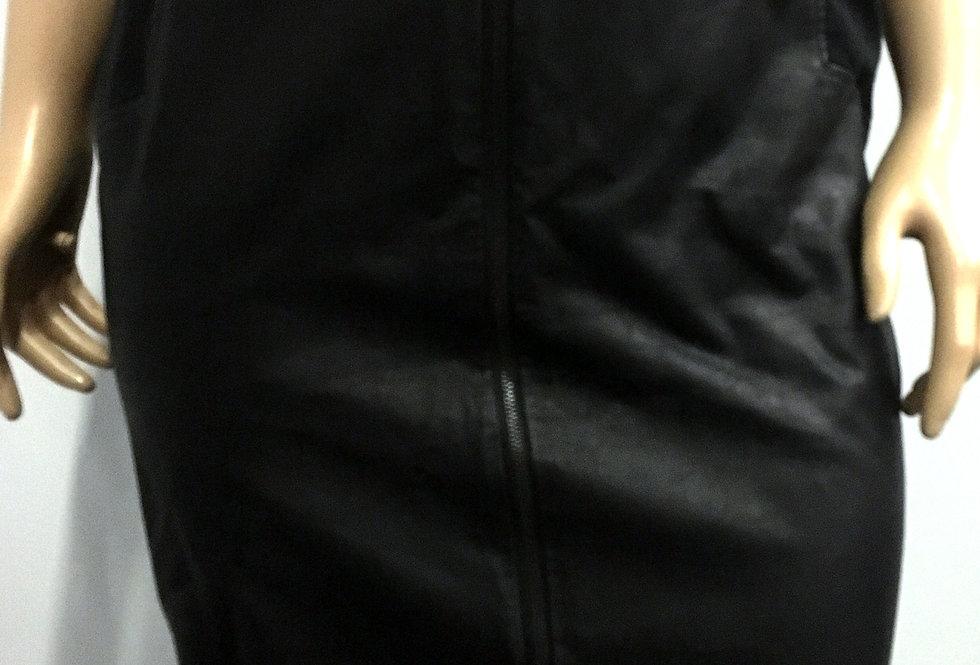 Forever 21 + Black Faux Leather Skirt