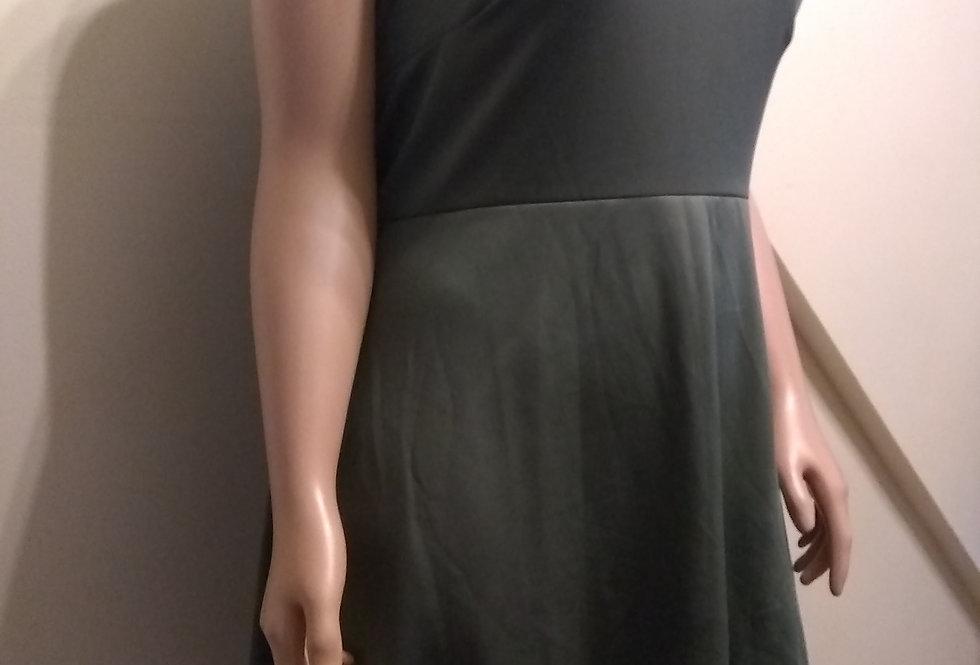 Rue + Hunter Green Sleeveless Dress