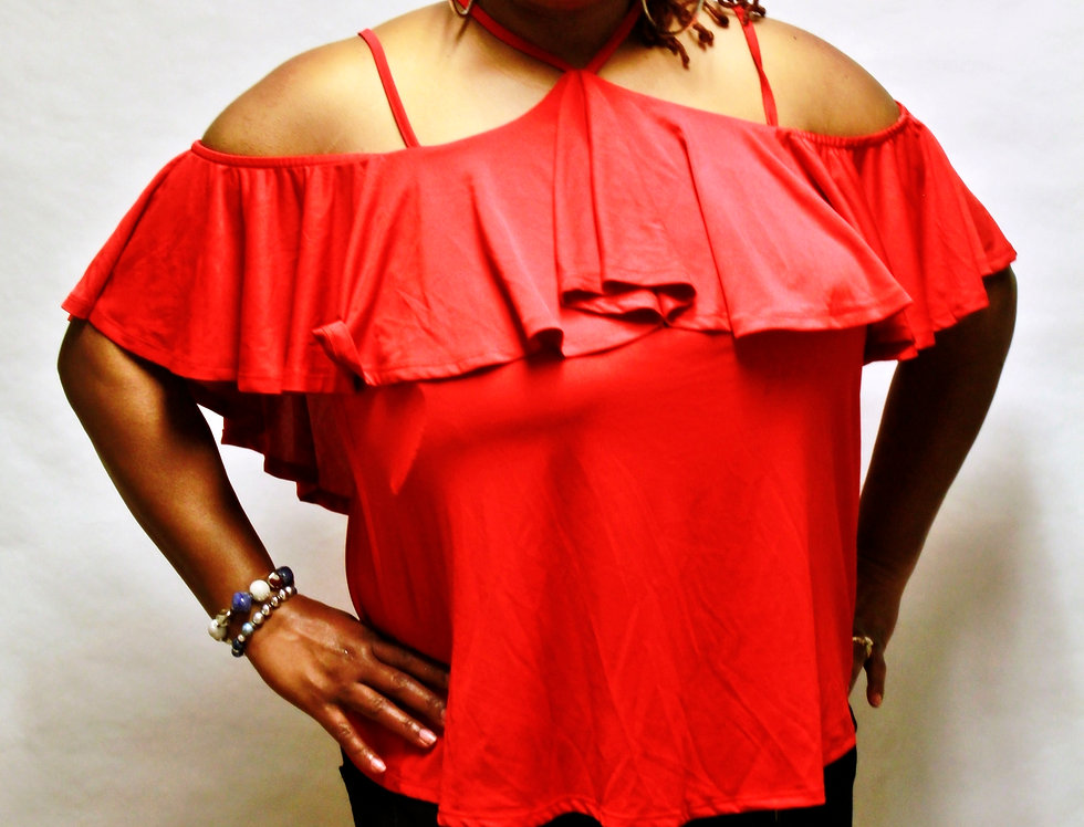 Fashion To Figure Red Top