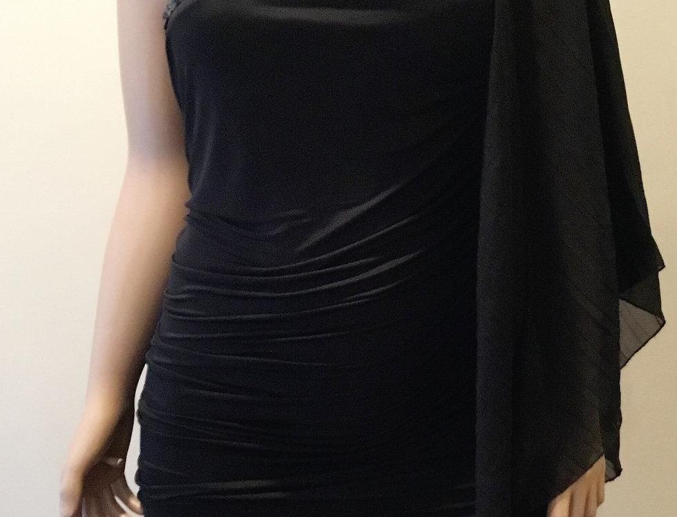 Torrid Black Off the Shoulder Dress