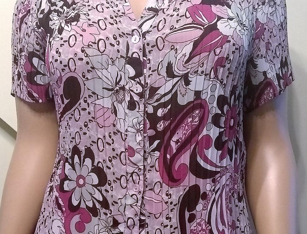 Dress Barn Multi Color Shirt