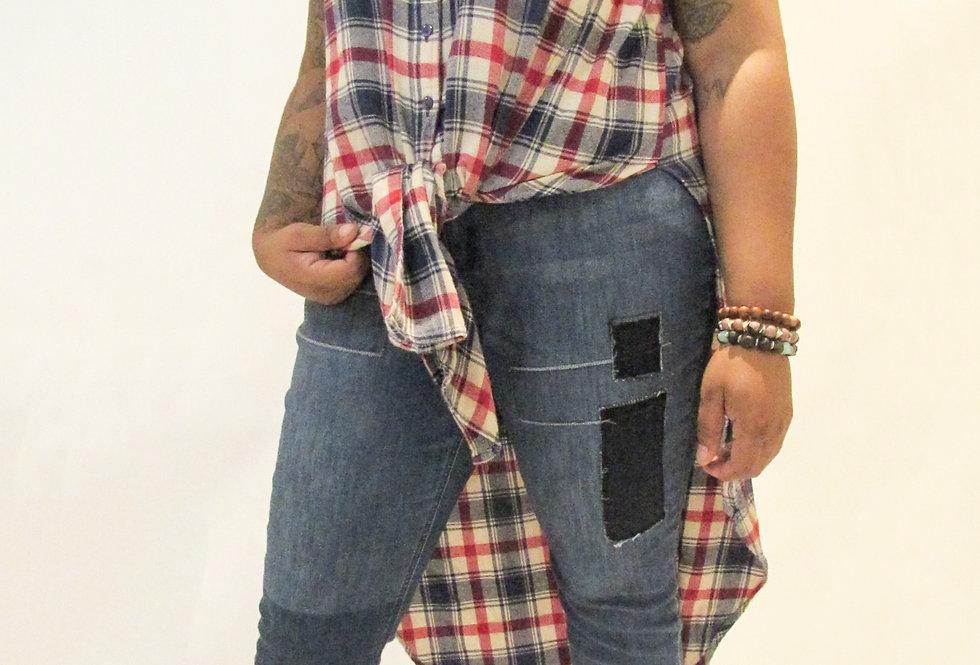 Fashion To Figure Checkered Shirt