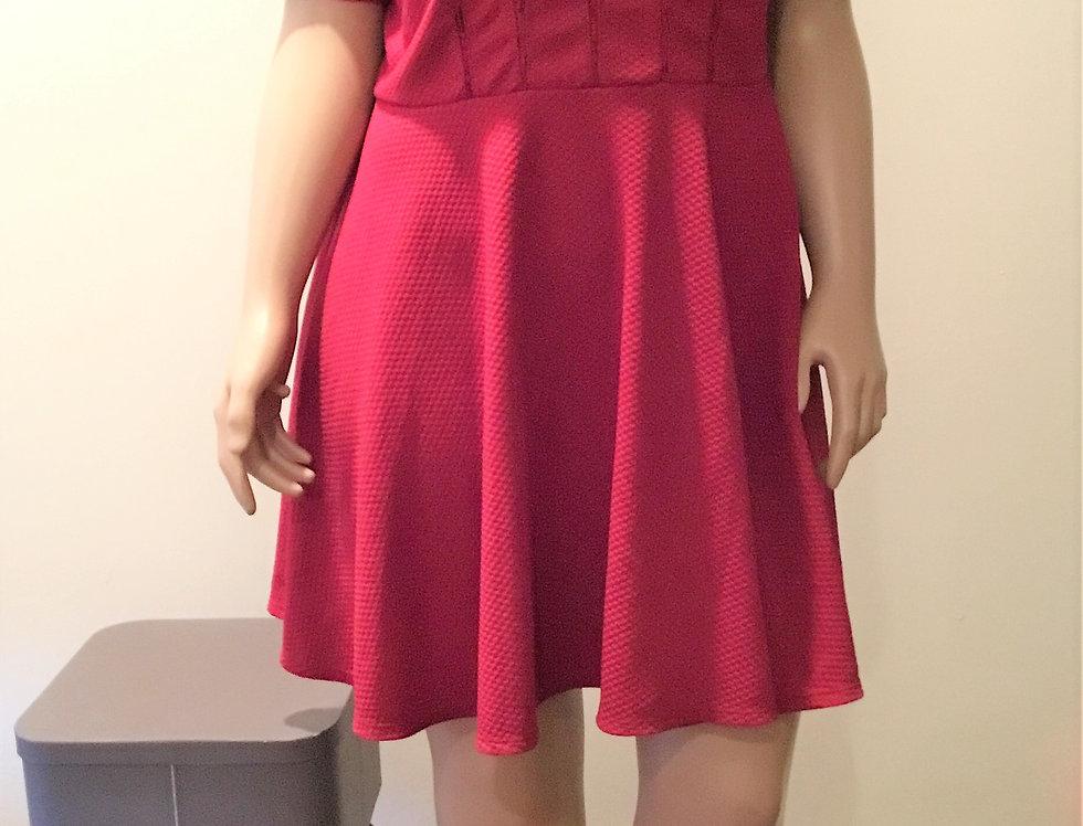 Forever 21 Burgundy Dress