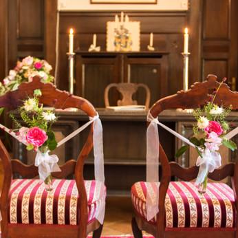 Brautpaar Stühle