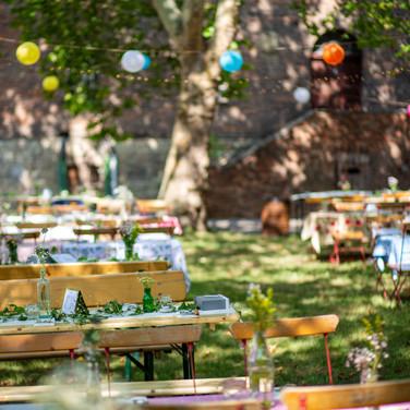 Hochzeit Hoffläche