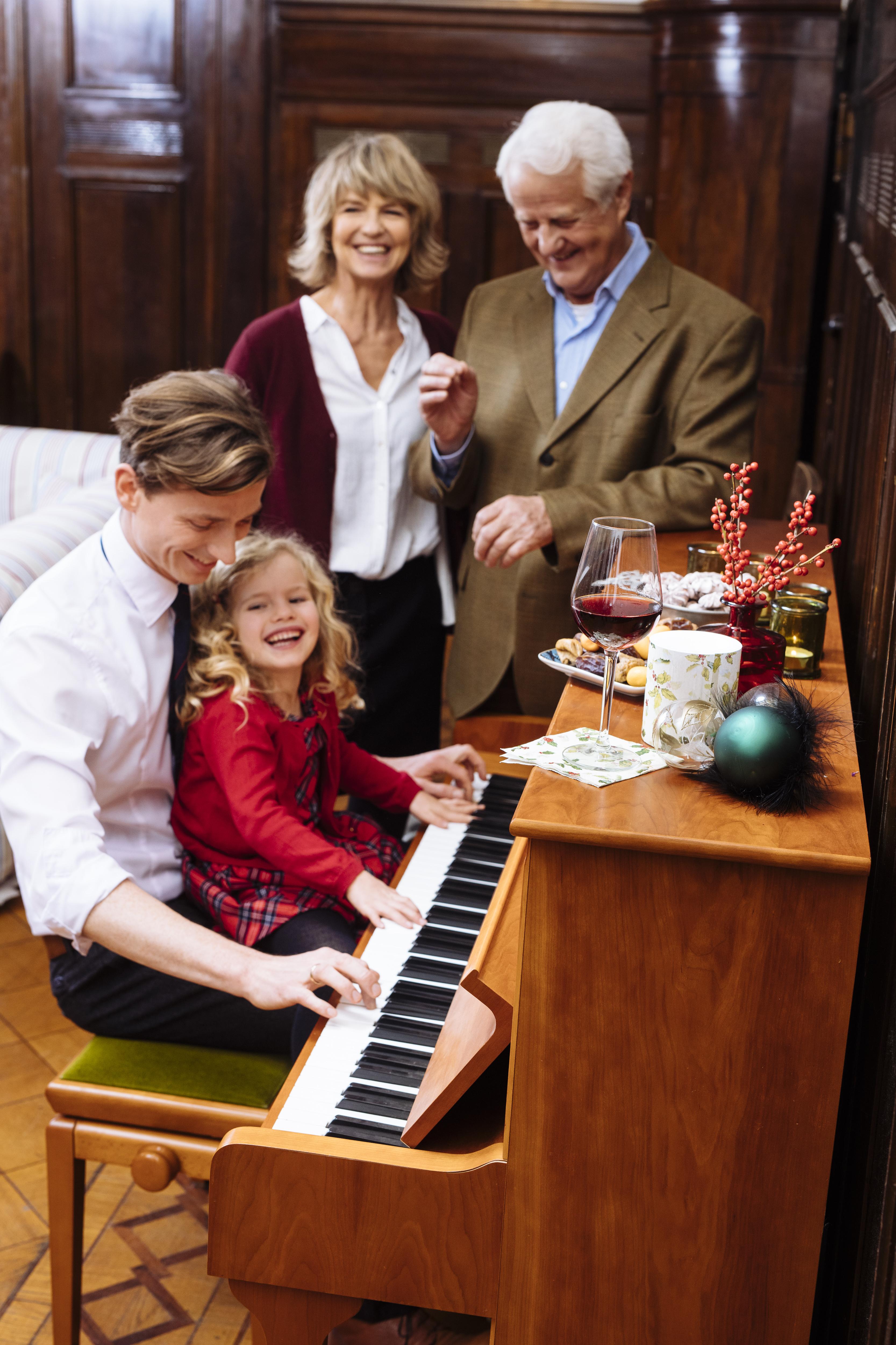 Klavier im großen Saal