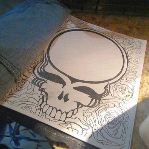 grateful dead coloring books - Grateful Dead Coloring Book