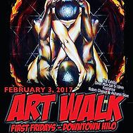 Feb2017 Art Walk featuring Robyn Chance