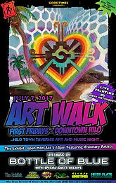 July2017 Art Walk featuring Dave Datsuzoku
