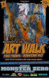 Aug2017 Art Walk feturing Rod Cameron