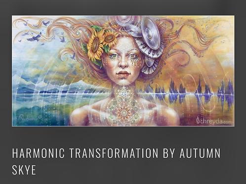 "Tapestry ""Harmonic Transformation"""