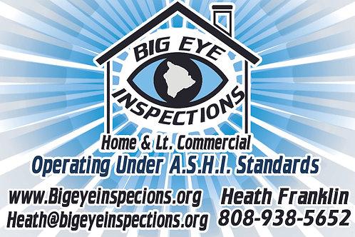 Big Eye Inspections