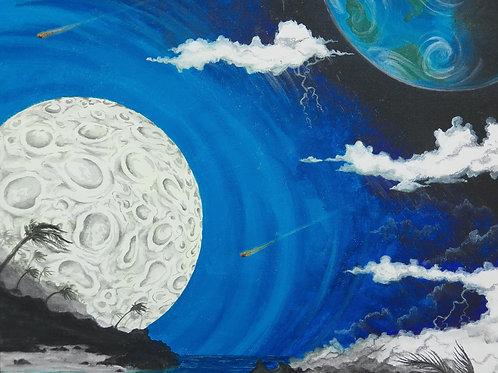 Moon Light Meteorite