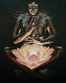 Lotus, glow, woman, self, bloom, Autumn, Skye, Morrison, visionary, art