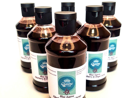 Blue Agave Elderberry & Ginger Syrup