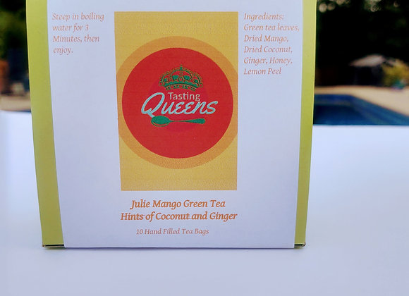 Julie Mango Green Tea