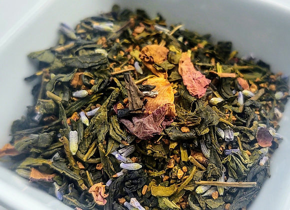 Soothing Lavender Rose and Orange Tea