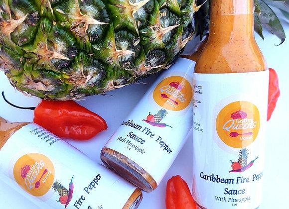 Caribbean Fire Pepper Sauce