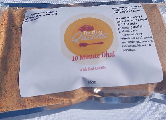 10 Minute Dhal Mix