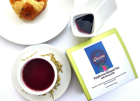 Purple Iron Bouquet Tea
