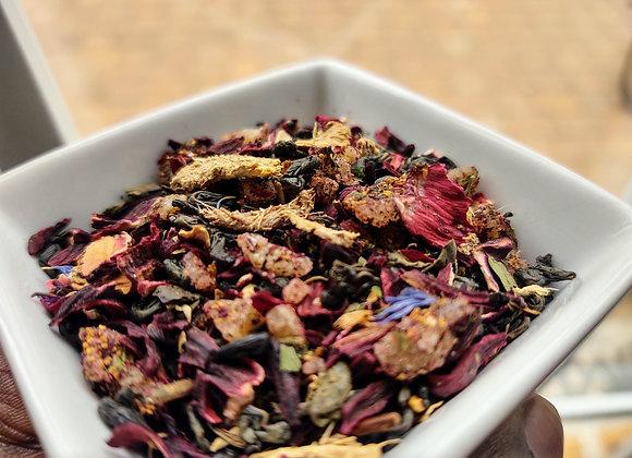 Sorrel Ginger Buzzer Tea