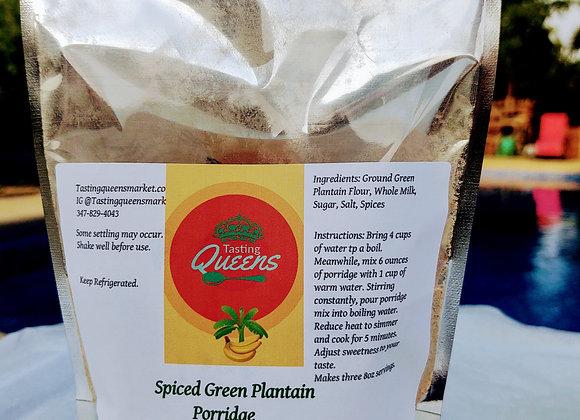 Spiced Green Plantain Porridge