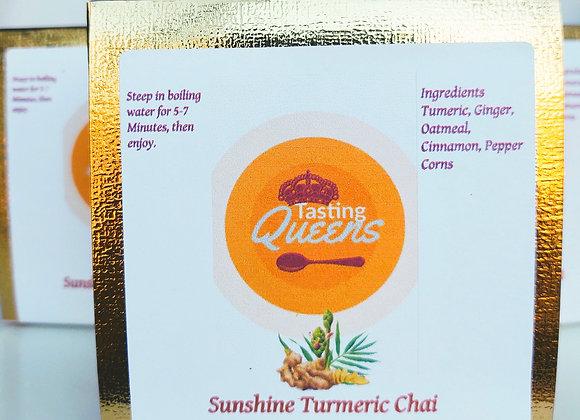 Golden Turmeric Chai Tea (With Oatmeal)